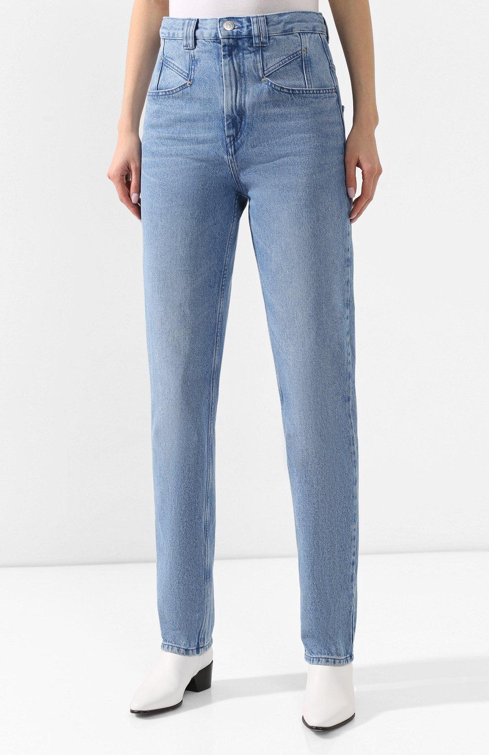 Женские джинсы ISABEL MARANT голубого цвета, арт. PA1461-20P016I/D0MINIC   Фото 3