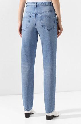 Женские джинсы ISABEL MARANT голубого цвета, арт. PA1461-20P016I/D0MINIC   Фото 4