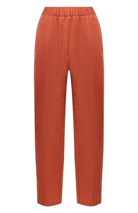 Женские брюки FORTE_FORTE коричневого цвета, арт. 7012 | Фото 1
