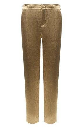 Женские брюки VINCE золотого цвета, арт. V632921740 | Фото 1