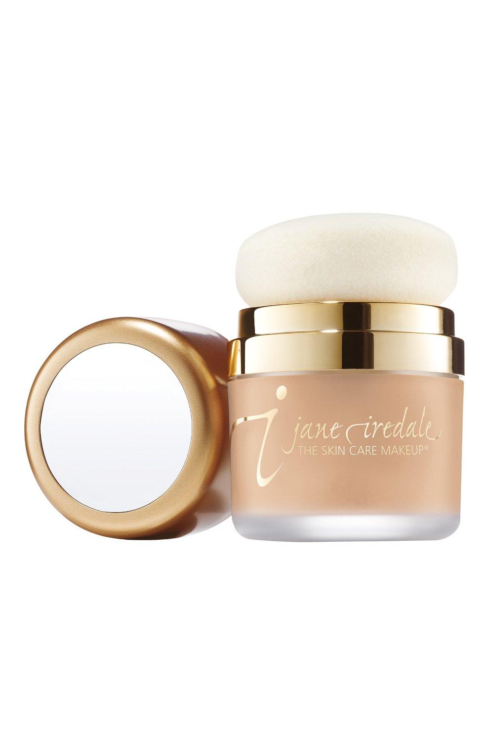 Женская защитная пудра powder me spf 30, оттенок nude JANE IREDALE бесцветного цвета, арт. 670959113726   Фото 1