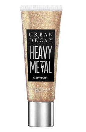 Женский глиттер-гель для лица и тела heavy metal, dreamland URBAN DECAY бесцветного цвета, арт. 3605972052032   Фото 1