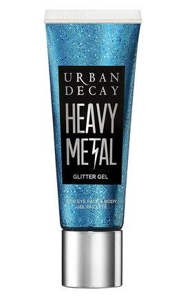 Женский глиттер-гель для лица и тела heavy metal, soul love URBAN DECAY бесцветного цвета, арт. 3605972052070   Фото 1