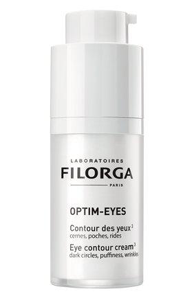 Женского уход за контуром глаз optim-eyes FILORGA бесцветного цвета, арт. 3401361057578 | Фото 2