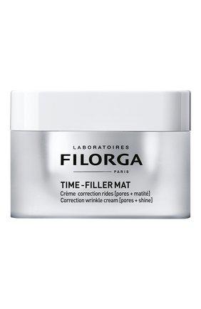 Женского корректирующий крем для лица time-filler mat FILORGA бесцветного цвета, арт. 3401560783223 | Фото 1