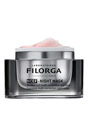 Женская мультикорректирующая ночная маска ncef-night mask FILORGA бесцветного цвета, арт. 3540550008523 | Фото 2