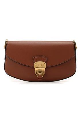 Женская сумка TOD'S коричневого цвета, арт. XBWA0JC0100XPA | Фото 1