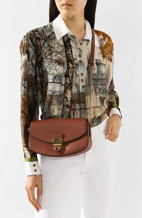 Женская сумка TOD'S коричневого цвета, арт. XBWA0JC0100XPA | Фото 2