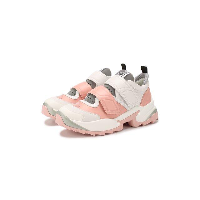 Кожаные кроссовки Sergio Rossi — Кожаные кроссовки