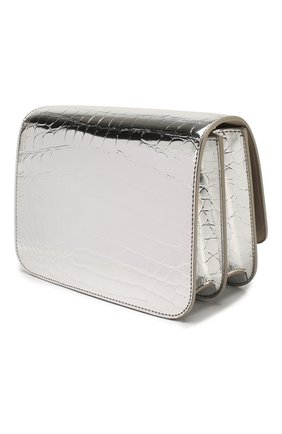 Женская сумка tb small BURBERRY серебряного цвета, арт. 8023094 | Фото 3