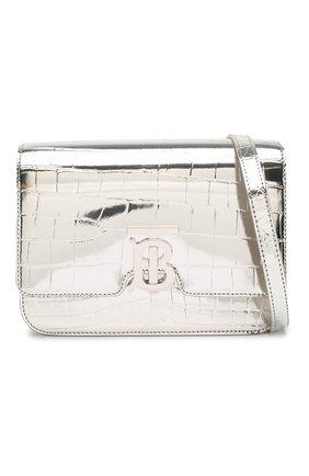 Женская сумка tb small BURBERRY серебряного цвета, арт. 8023094 | Фото 6