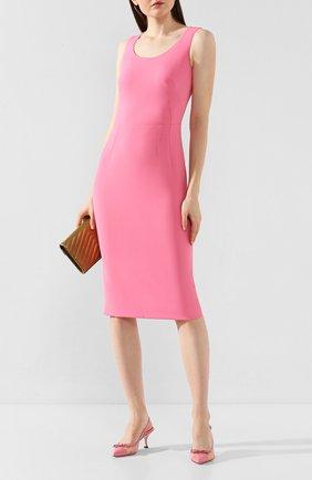 Женская комбинированные туфли lori DOLCE & GABBANA розового цвета, арт. CG0369/AX047 | Фото 2