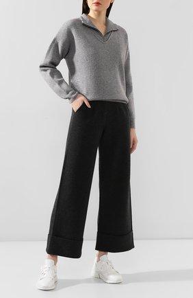 Женская шерстяной свитер NOT SHY серого цвета, арт. 3503032 | Фото 2