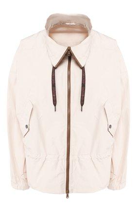 Женская куртка BRUNELLO CUCINELLI белого цвета, арт. MF5278909 | Фото 1