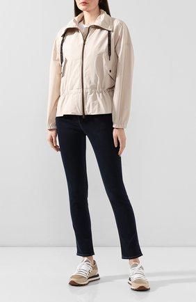 Женская куртка BRUNELLO CUCINELLI белого цвета, арт. MF5278909 | Фото 2