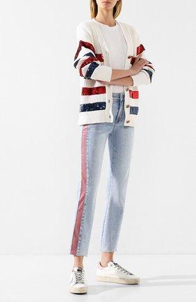Женские джинсы PAIGE голубого цвета, арт. 5623E77-7699 | Фото 2