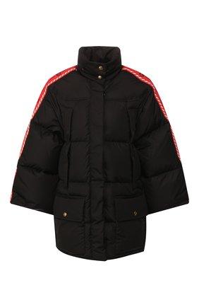 Женский пуховая куртка GUCCI черного цвета, арт. 601874/Z8AIE   Фото 1