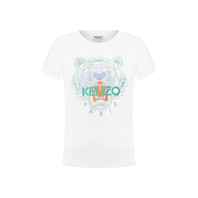 Хлопковая футболка Kenzo
