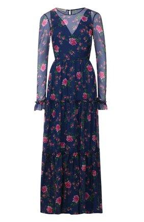 Женское платье-макси PHILOSOPHY DI LORENZO SERAFINI синего цвета, арт. A0442/754 | Фото 1