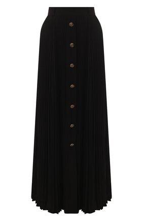 Женская юбка-макси PHILOSOPHY DI LORENZO SERAFINI черного цвета, арт. V0117/717 | Фото 1