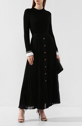 Женская юбка-макси PHILOSOPHY DI LORENZO SERAFINI черного цвета, арт. V0117/717 | Фото 2