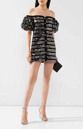 Женское платье с пайетками PHILOSOPHY DI LORENZO SERAFINI черного цвета, арт. V0409/743 | Фото 2