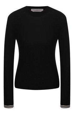 Женская кашемировый свитер PHILOSOPHY DI LORENZO SERAFINI черного цвета, арт. V0915/703 | Фото 1