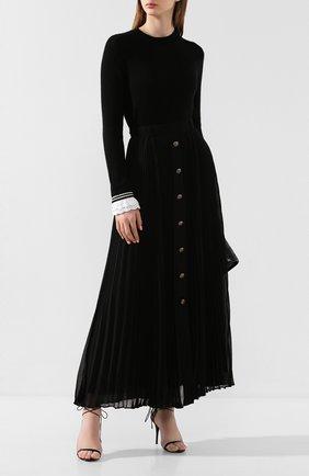 Женская кашемировый свитер PHILOSOPHY DI LORENZO SERAFINI черного цвета, арт. V0915/703 | Фото 2