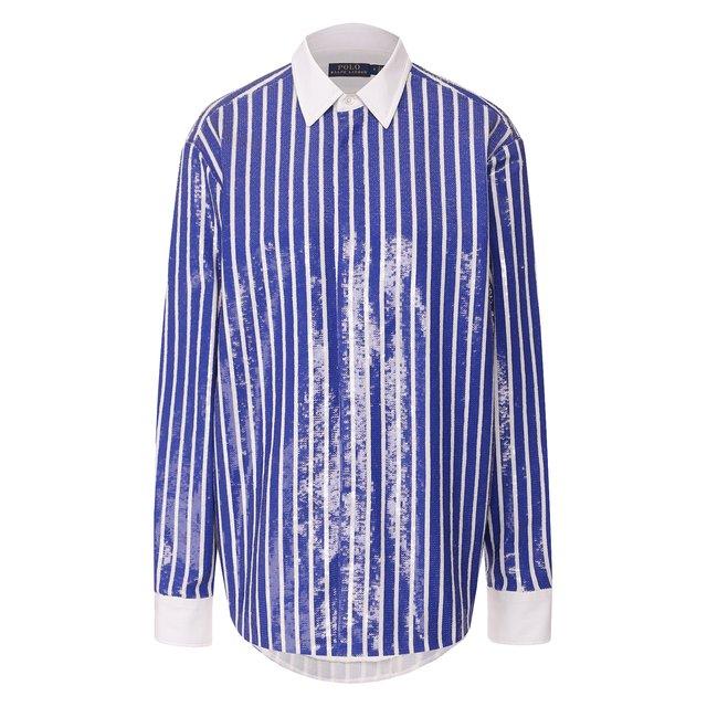 Рубашка с пайетками Polo Ralph Lauren