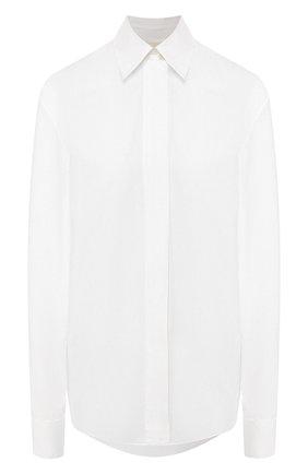 Женская хлопковая рубашка ALEXANDRE VAUTHIER белого цвета, арт. 201SH1202 0192-1030   Фото 1