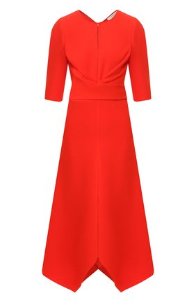 Женское платье-миди DOROTHEE SCHUMACHER красного цвета, арт. 642404/S0PHISTICATED PERFECTI0N | Фото 1