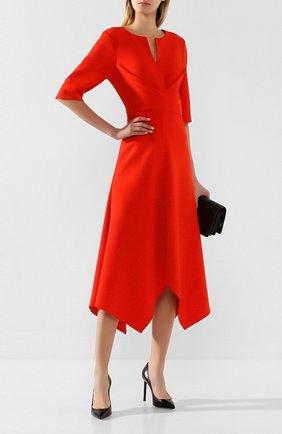 Женское платье-миди DOROTHEE SCHUMACHER красного цвета, арт. 642404/S0PHISTICATED PERFECTI0N | Фото 2