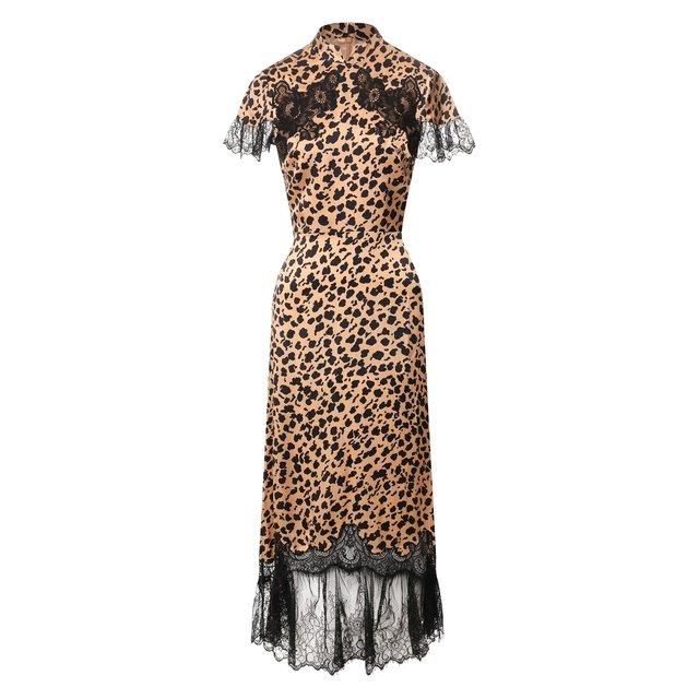 Шелковое платье Saloni