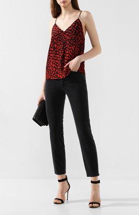 Женские джинсы 3X1 серого цвета, арт. WP0170966/MADD0X | Фото 2