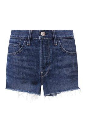 Женские джинсовые шорты 3X1 синего цвета, арт. WSXSB0866/KENZIE | Фото 1