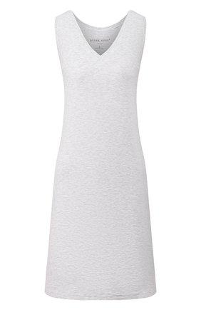 Женская сорочка DEREK ROSE серого цвета, арт. 1209-ETHA001 | Фото 1