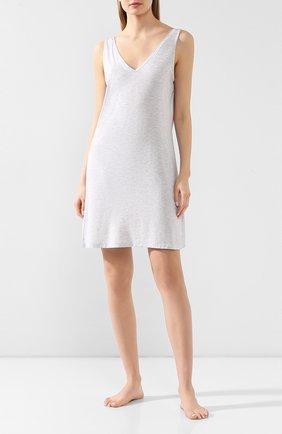 Женская сорочка DEREK ROSE серого цвета, арт. 1209-ETHA001 | Фото 2