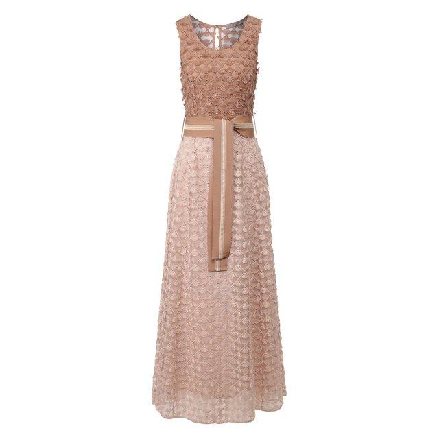 Платье с поясом D.Exterior — Платье с поясом