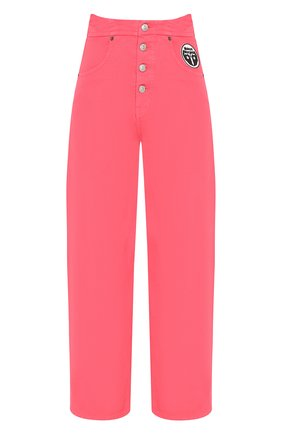 Женские джинсы MM6 розового цвета, арт. S52LA0119/S30653 | Фото 1