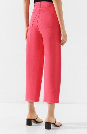 Женские джинсы MM6 розового цвета, арт. S52LA0119/S30653 | Фото 4