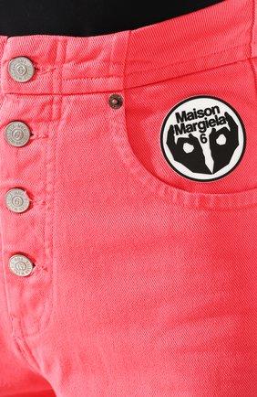 Женские джинсы MM6 розового цвета, арт. S52LA0119/S30653 | Фото 5