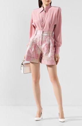Женские шорты DOLCE & GABBANA розового цвета, арт. FTBQ6T/HJMJR | Фото 2