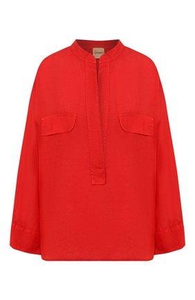 Женская льняная рубашка NUDE красного цвета, арт. 1103744/SHIRT | Фото 1