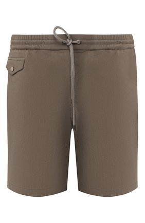 Мужские плавки-шорты BRIONI хаки цвета, арт. N2310L/P6813 | Фото 1