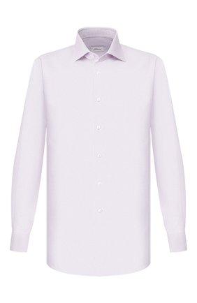 Мужская хлопковая сорочка BRIONI сиреневого цвета, арт. RCL810/P907L | Фото 1