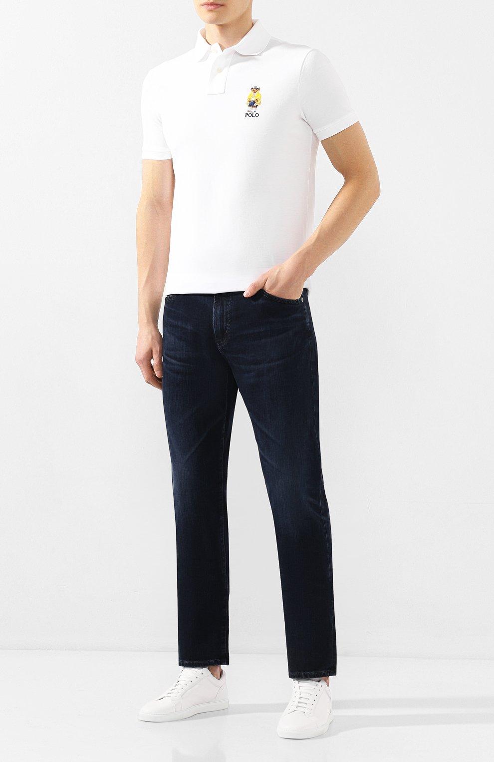 Мужские джинсы AG темно-синего цвета, арт. 1794LED/04YCAS   Фото 2