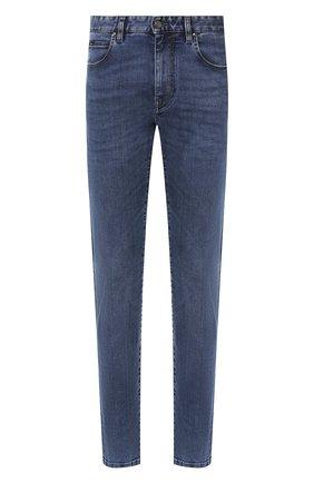 Мужские джинсы Z ZEGNA синего цвета, арт. VU715/ZZ530   Фото 1
