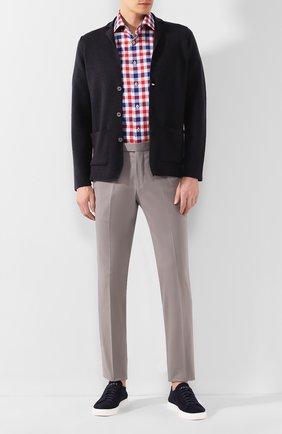 Мужская хлопковая рубашка VAN LAACK разноцветного цвета, арт. TIVARA2-S-PTF/161868 | Фото 2