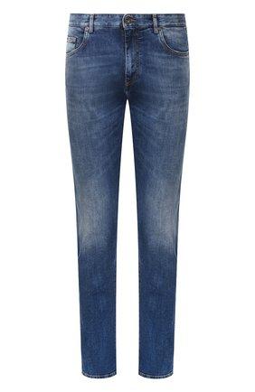 Мужские джинсы PAUL&SHARK синего цвета, арт. C0P4005   Фото 1