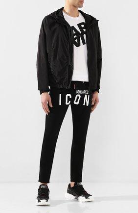 Мужские джинсы DSQUARED2 черного цвета, арт. S79LA0003/S39781 | Фото 2